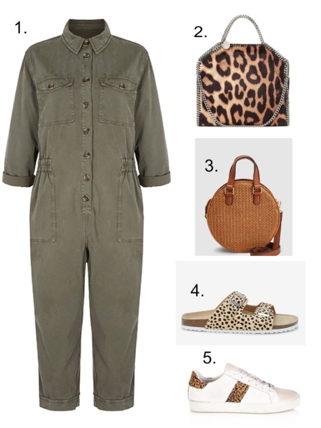 M&S Khaki Boiler suit all in one everyone