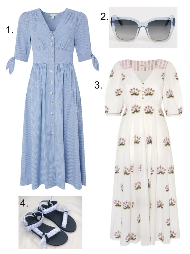 summer holiday essentials cotton dress