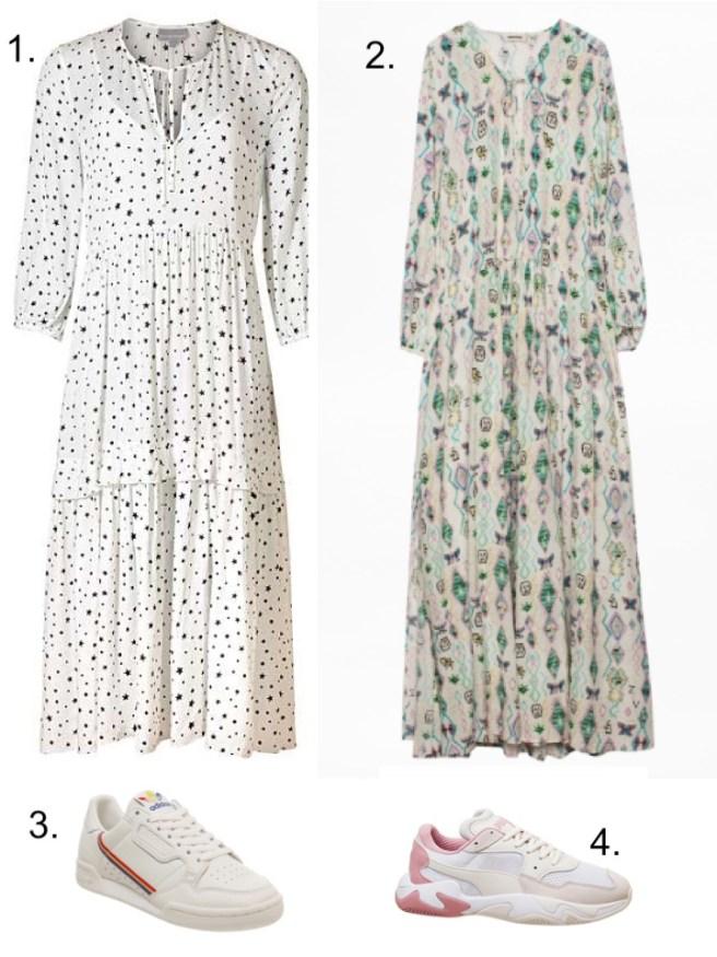 Zadig Maxi Dress Summer whites