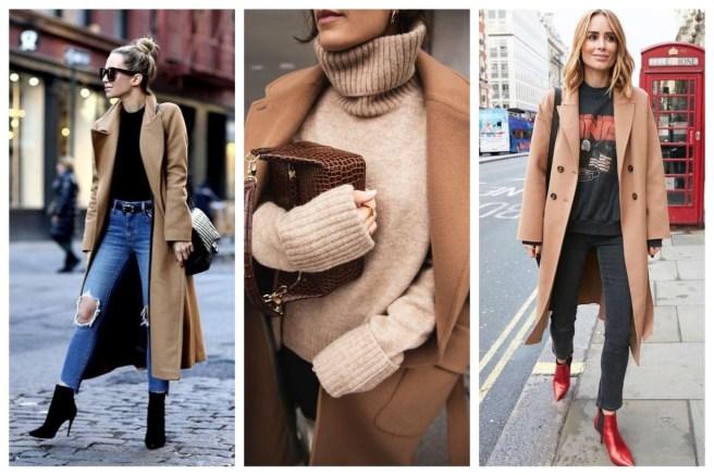 camel autumn coats