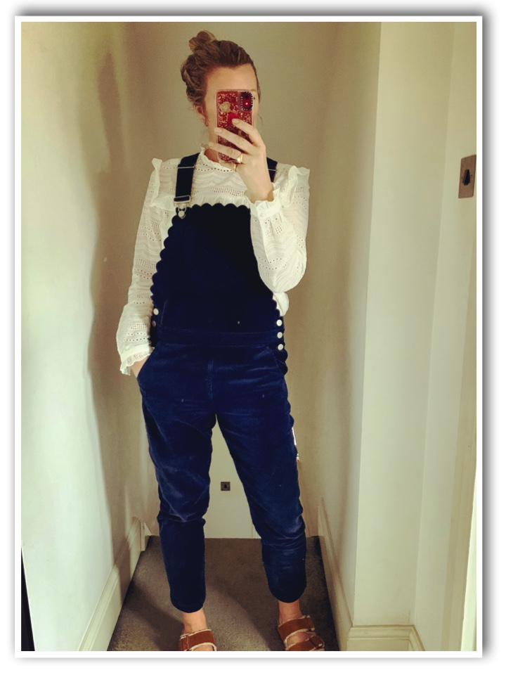 me in Wyse London Dungarees