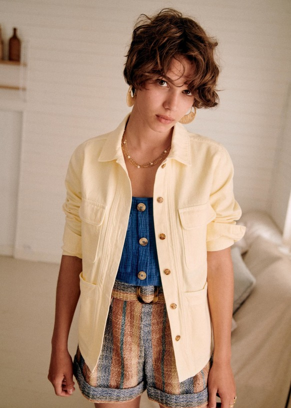 sezane summer jackets
