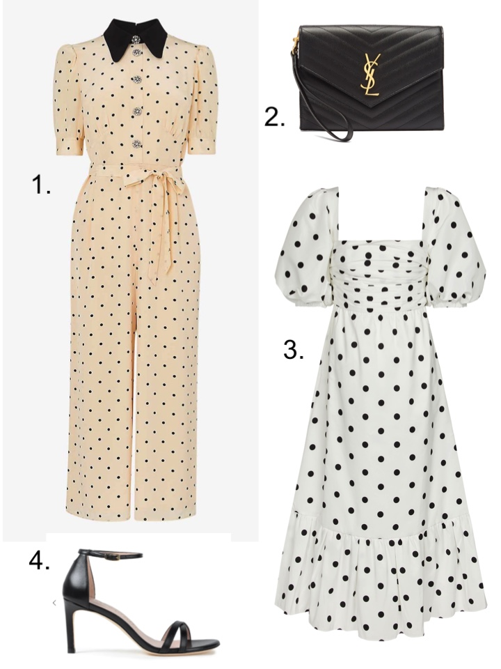 best dressed guest polka dots