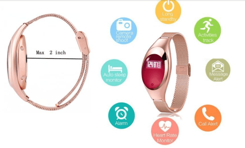 The Unique Fashionable Design of the Relee Smart Fitness Tracker
