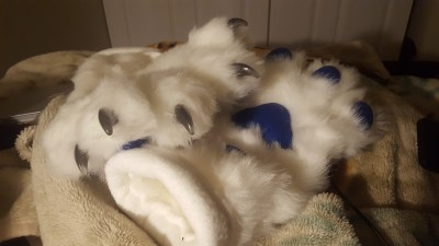 LED Claws Handpaws