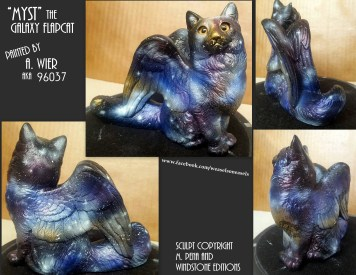 Myst the Flapcat Sculpt Copyright Windstone Editions and M. Pena