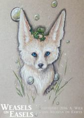 """Fennec Fritz"" Colored Pencil"