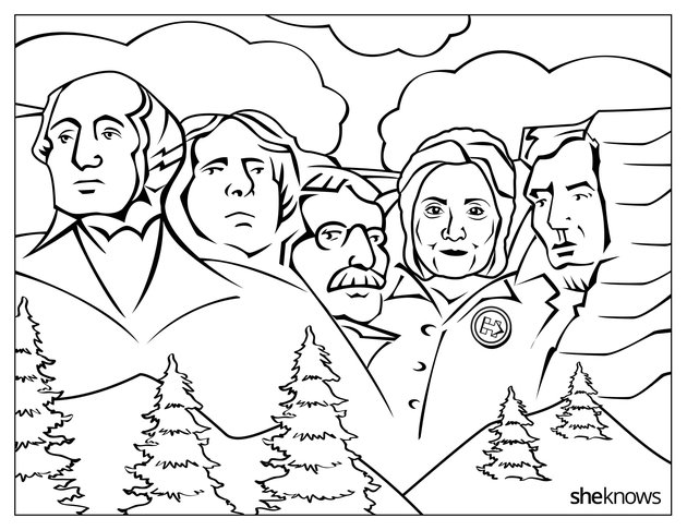 Feminist Coloring Book Depicts Hillary Clinton On Mount