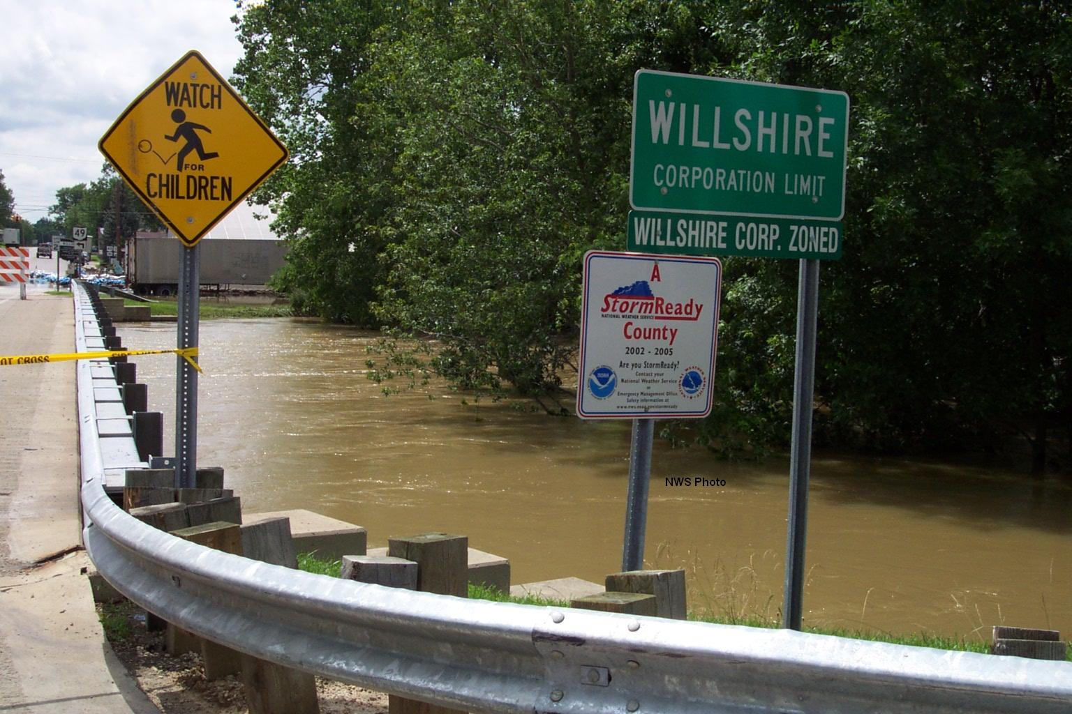 CassMiami counties flashflood