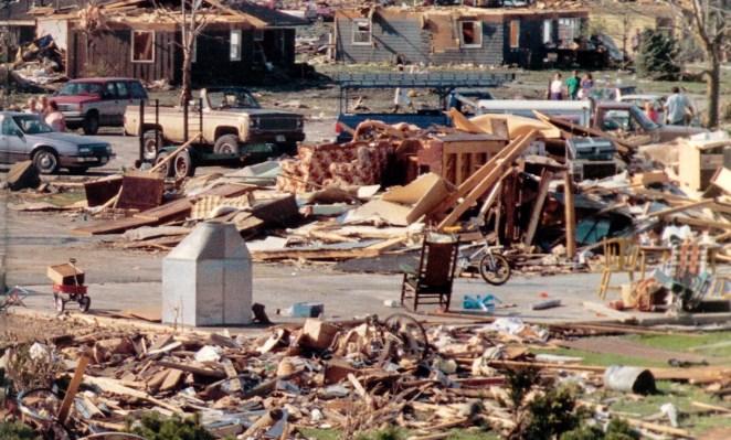 Plainfield tornado Damage Photo #2