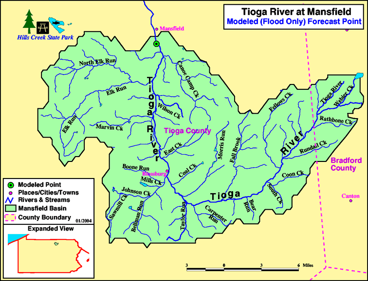 Middle Delaware River Map
