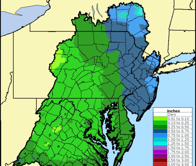 Hour Precipitation Forecasts Used To Produce Hydrologic Forecasts