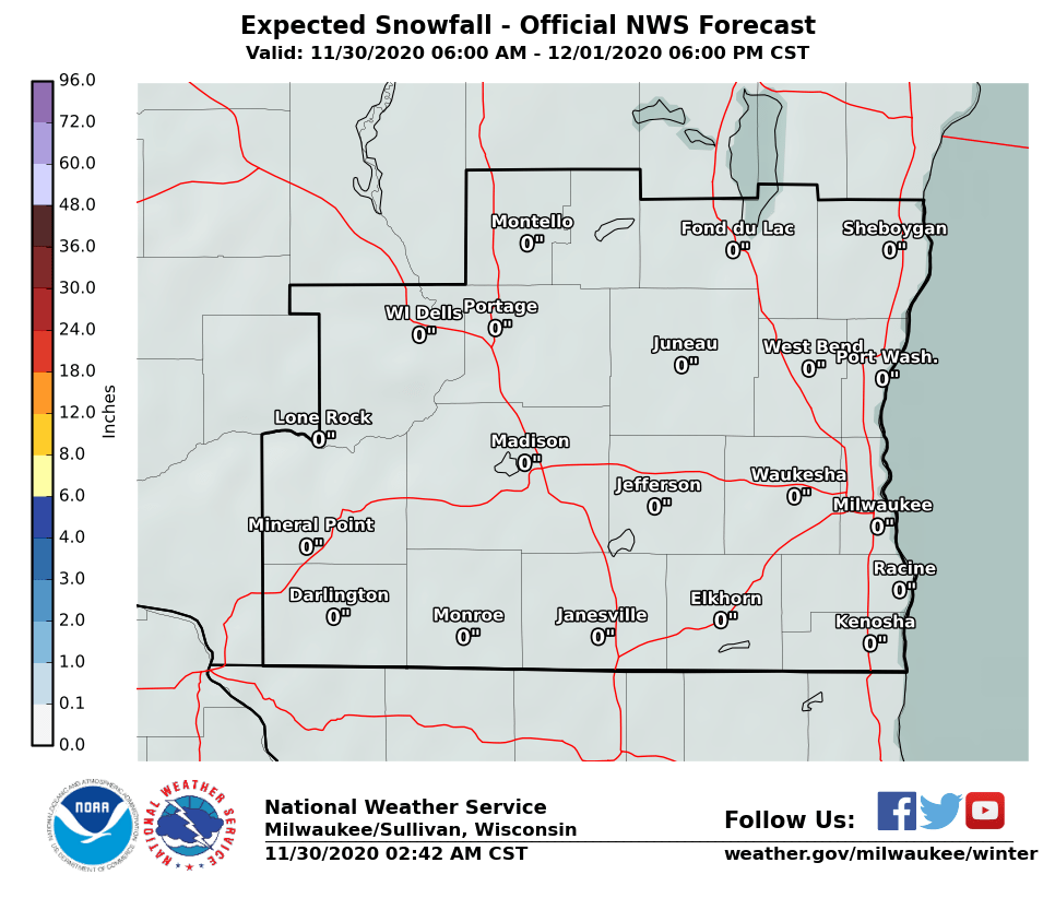 medium resolution of nws snowfall prediction map