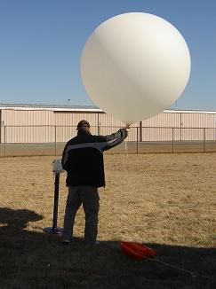 Collecting Meteorological Data by Radiosonde or Weather