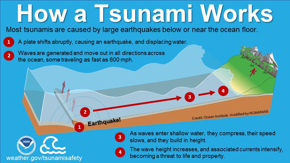 tsunami diagram with labels 2005 dodge magnum pump engine infographics