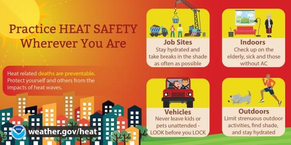 Social Media Heat Safety