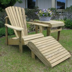 Unfinished Adirondack Chair Used Power Wheel Chairs Our Classic Has Real Comfort To Appreciate Natural With Footrest And Accent Side Table
