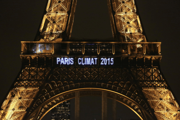 COP 21 in Paris. Credit: Arc20