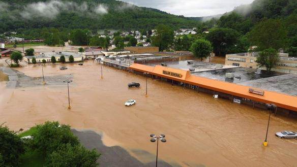 Flooding In West Virginia. Credit: ABC11