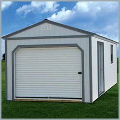 Weatherking Painted Garage