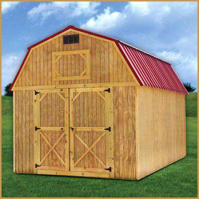Lofted Barn With Metal Roiof