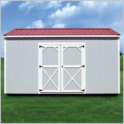 Weatherking Private Storage Painted Side Utility