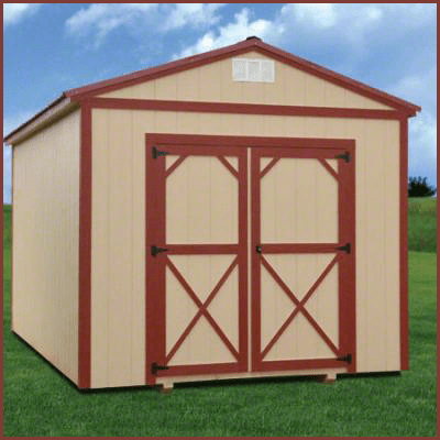 Weatherking Private Storage Painted Utility Custon Height