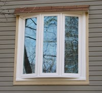 3 Section Bow Window w/ Shed Roof - Weathermaster Window