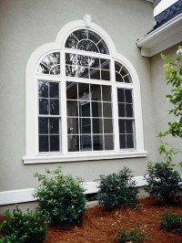 Quarter & Half Round Window Design w/ Colonial and ...