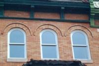 Round Top Single Hung Windows - WeatherMaster Windows