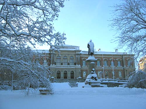 Pictures from Uppsala winter 2001