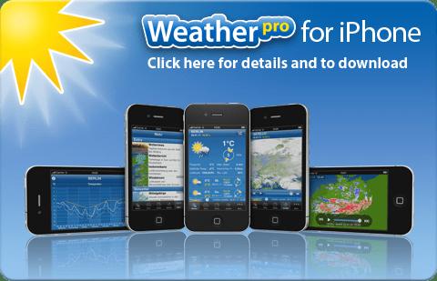 Descargar WeatherPro para iPhone