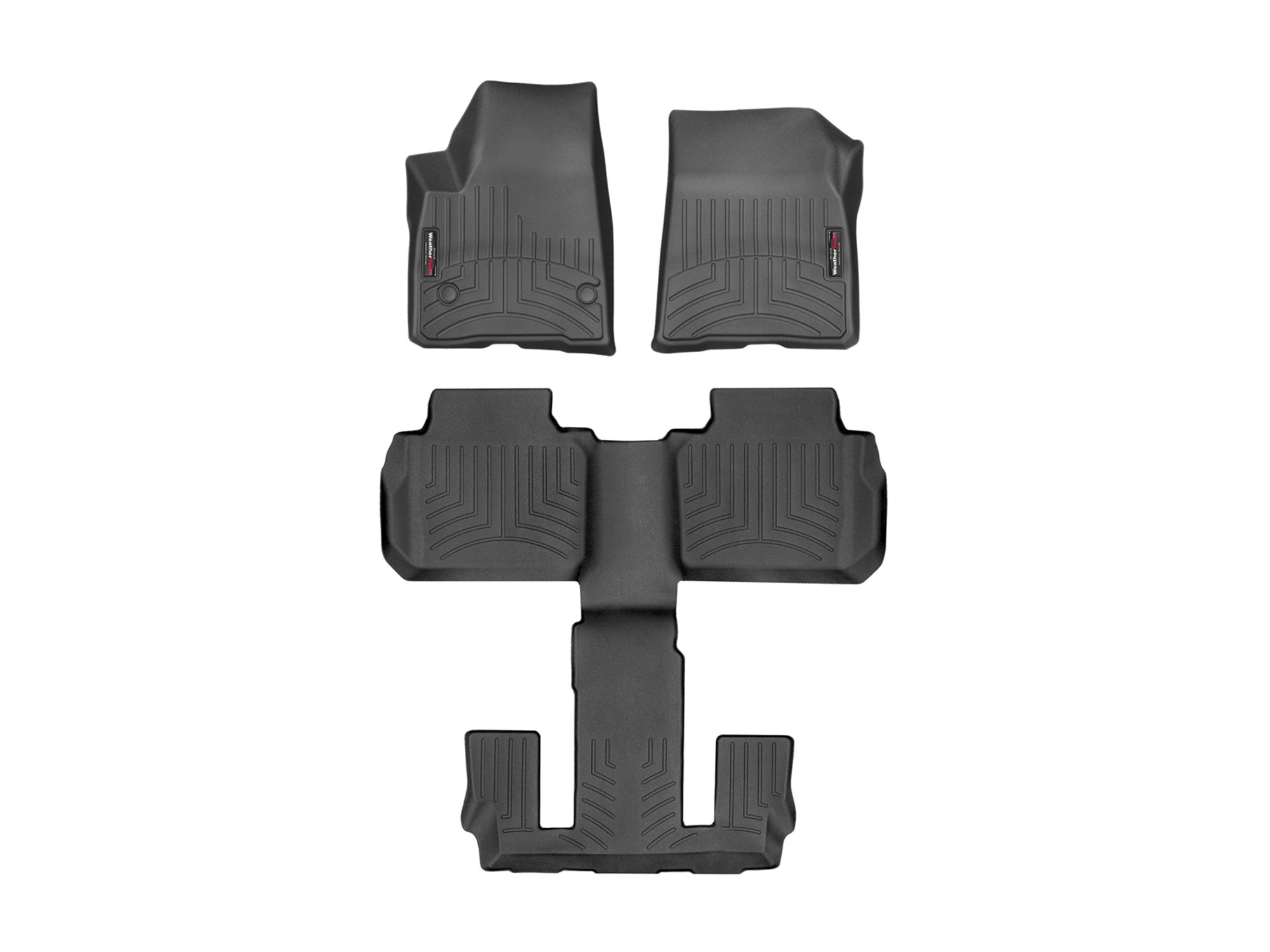 WeatherTech Floor Mats FloorLiner for GMC Acadia w Bucket