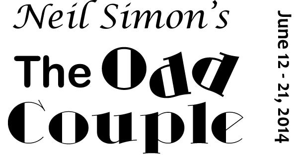 Neil Simon's The Odd Couple Live on stage at Weathervane
