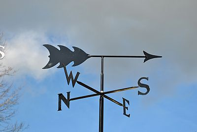 plain and simple weathervanes