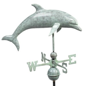 Dolphin Weathervane 9507 By Good Directions -0