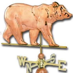 Bear Copper Weathervane-0