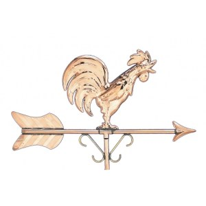 Rooster Garden Copper Weathervane-698