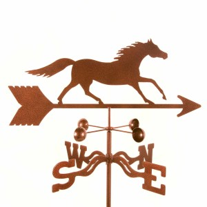 Running Horse Weathervane-0