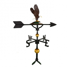 "Mount Only For 32"" Deluxe Eagle Weathervane -0"