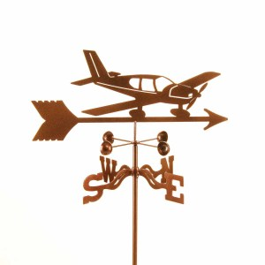 Low Wing Airplane Weathervane-0