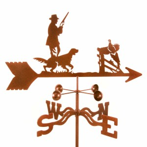 Hunter With Dog Weathervane-0