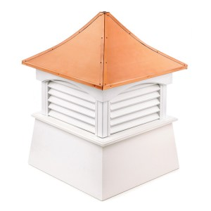 "60"" sq. x 86"" high Coventry Vinyl Cupola -0"