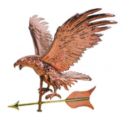 Jumbo Eagle Copper Weathervane-0