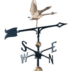 "30"" Full-Bodied Goose Weathervane-0"