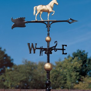 "30"" Full-Bodied Horse Weathervane-0"
