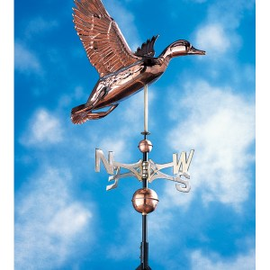 Copper Duck Weathervane-0