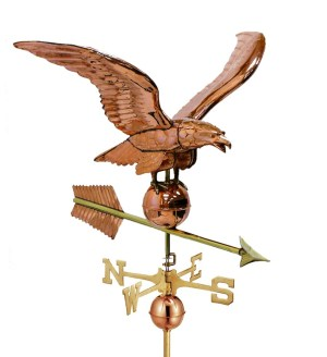 Smithsonian 956 Eagle Weathervane By Good Directions -0