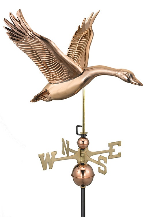 Goose Pure Copper Hand Crafted Weathervane -75