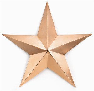 Copper Barn Star by Good Directions-0